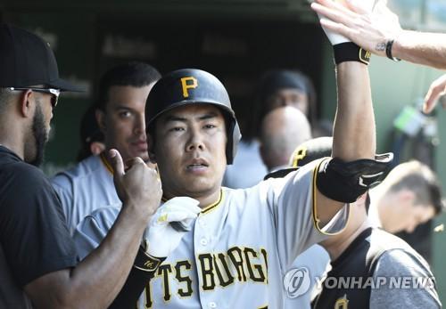 강정호, 컵스 에이스 레스터에게 후반기 첫 홈런(종합)