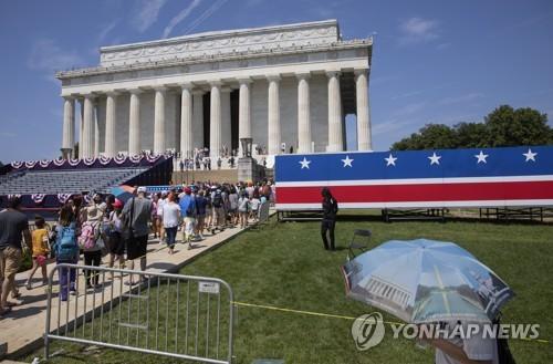 말 많은 美독립기념일 행사…초청받은 軍수뇌부도 '정치화' 우려