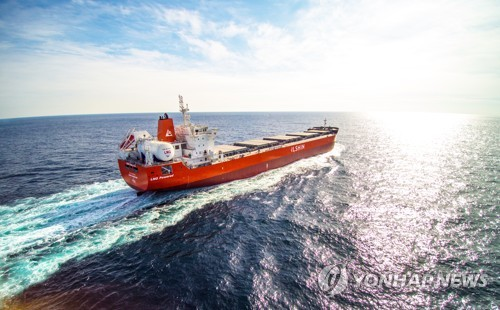 해운업계 환경규제 강화 대응…LNG 추진 외항선박 2척 건조
