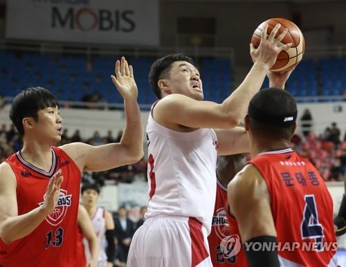 이승현 15점…한국 남자농구, 존스컵 첫 경기서 요르단 제압