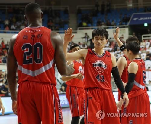이대성·라건아 38점 합작…한국 남자농구 존스컵 2연승