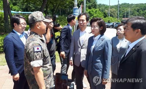 한국당, 오늘 '北목선 사건' 해군 1함대 방문