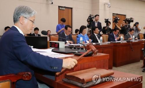 법사위, 윤석열 청문회에 前용산세무서장 비리 의혹 증인 4명(종합)