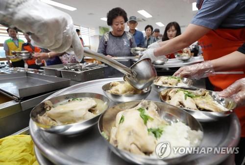 '복날' 낮 최고 30도…경기·강원 일부지역 소나기