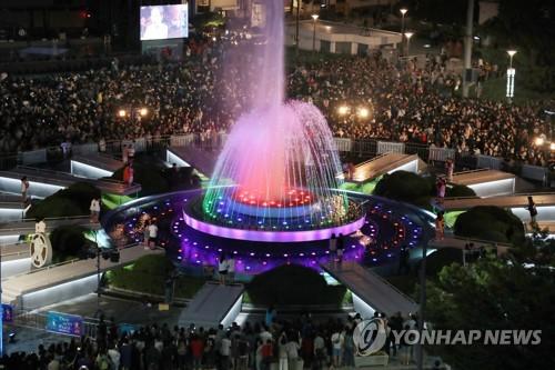 [광주세계수영] 빛의 고장에서, 물의 축제 시작…2천639명 역대 최대규모