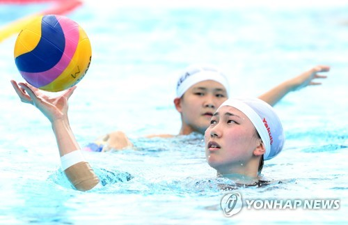 [광주세계수영] 한국 수구대표팀 입장곡은 영화 '국가대표' OST