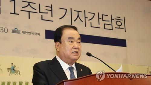"""문의장 """"국회대표단 이달말 방일…초당적 '규제철회' 결의 통보"""""""