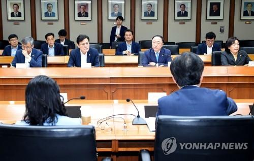"""정부, 日규제 대응 국내 대책 박차…""""가용자원 총동원""""(종합)"""