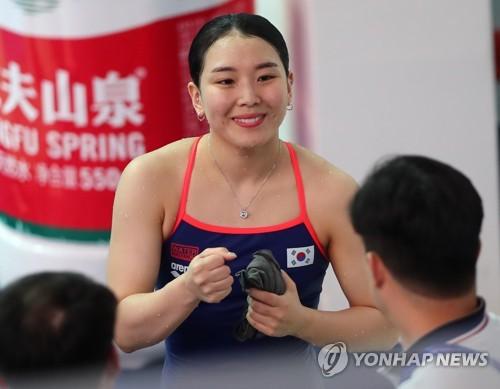 [광주세계수영] '1m 銅' 김수지의 진짜 목표는 3m 스프링 도쿄올림픽 출전