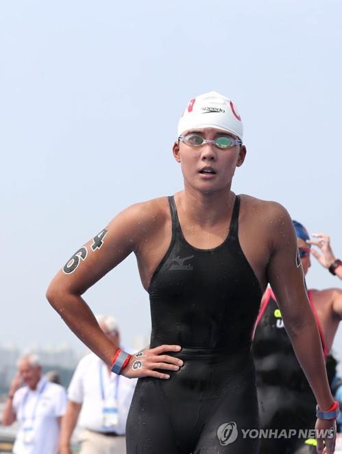 -광주세계수영- 中 신신, 오픈워터서 아시아 최초 금메달