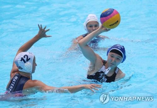 -광주세계수영- 여자 수구 역사적 첫 경기…헝가리에 0-64 완패(종합)