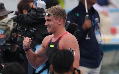 광주 세계수영선수권대회 첫 금메달…오픈워터 5㎞의 헝가리 라소프스키