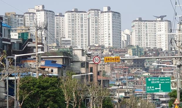 정비구역 지정 절차를 밟고 있는 서울의 한 재개발 예정구역. 전형진 기자