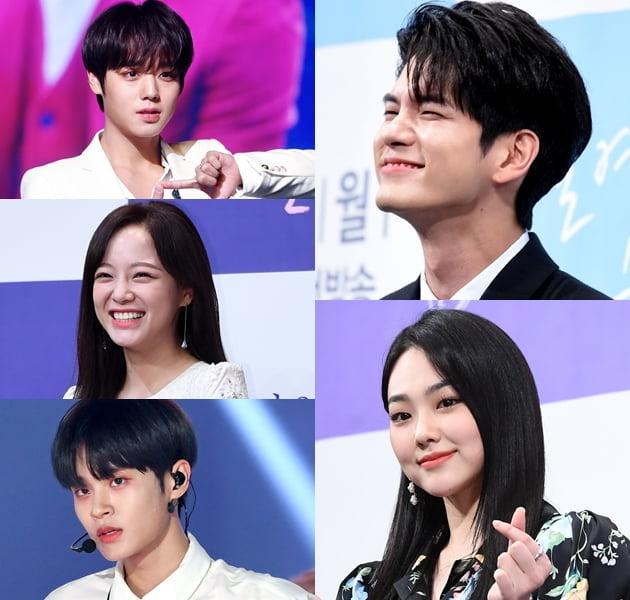 TV 읽기|옹성우·강미나·박지훈·김세정… 연기로 눈 돌린 '프로듀스' 출신 아이돌