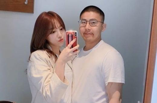 외질혜와 BJ철구/사진=외질혜 인스타그램