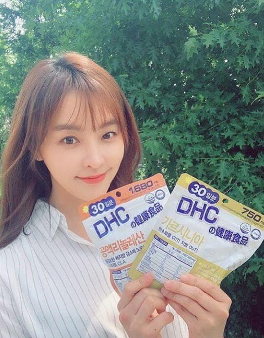 DHC 모델 정유미/사진=정유미 인스타그램