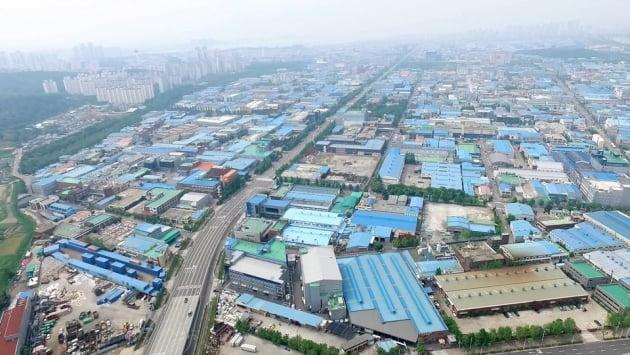 인천 남동산업단지 전경