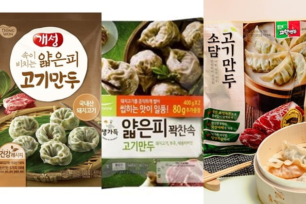 사진=동원F&B, 풀무원식품, 해태제과 제공