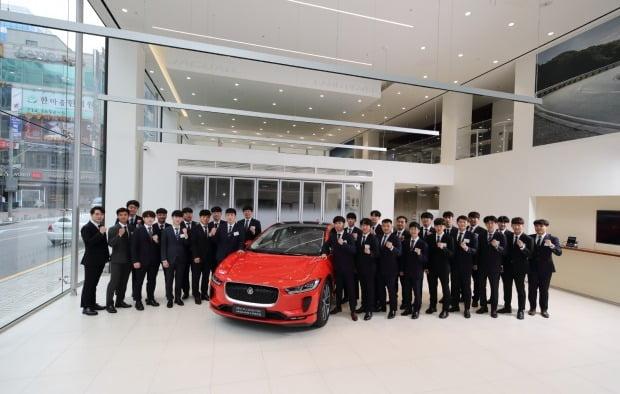 재규어랜드로버코리아가 자동차 전공 고등학생들에게 순수전기차 특화 교육 'I-PACE 전기차 트레이닝'을 제공한다.