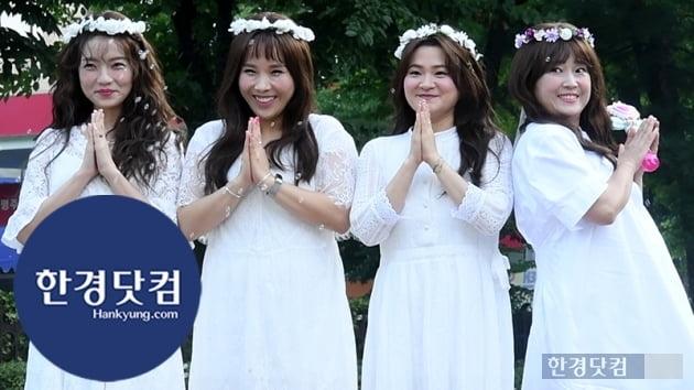 HK영상 '청순여신돌' 셀럽파이브, 아침을 샤랄라하게 밝히는 아름다움…'안 본 눈 삽니다~'