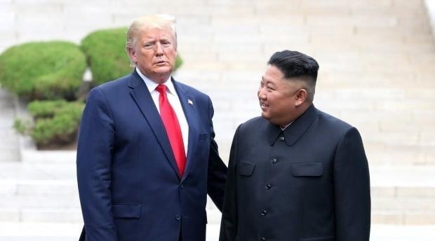 도널드 트럼프 미국 대통령과 북한 김정은 국무위원장(사진=연합뉴스)