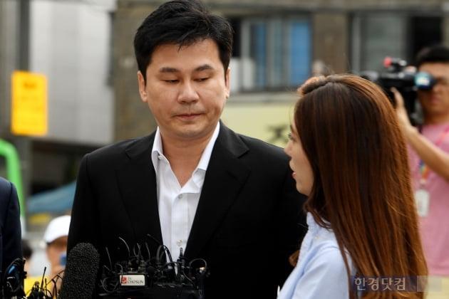 """[속보] '환치기·성접대 의혹' 양현석 """"경찰에 충실히 입장 밝힐 것"""""""