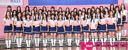 Mnet '아이돌학교' 입학생들. / 조준원 기자 wizard333@