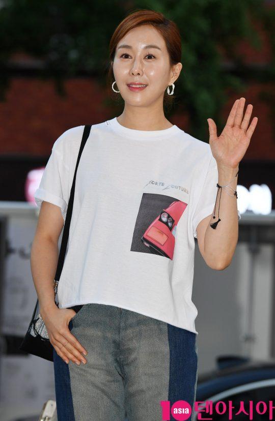 [TEN PHOTO]유서진 '김빛나도 왔어요'