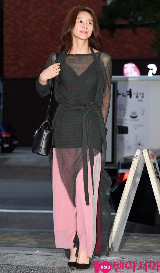 [TEN PHOTO]예지원 '우아한 시스루'
