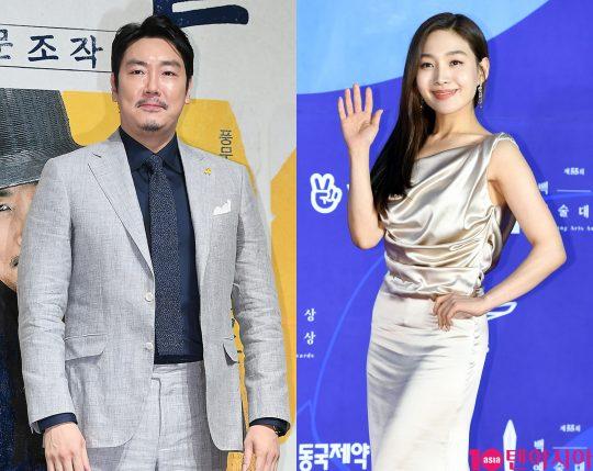 배우 조진웅(왼쪽), 최희서. /텐아시아DB