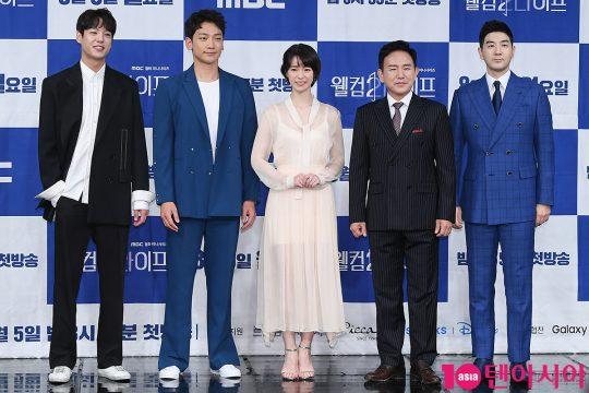배우 곽시양(왼쪽부터), 정지훈, 임지연, 손병호, 한상진