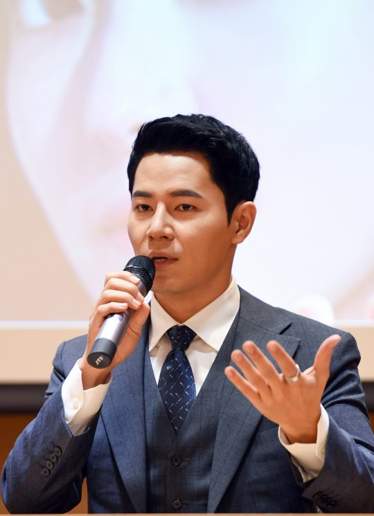 배우 이규형이 5일 오후 서울 마곡동 이대서울병원에서 열린 '의사 요한' 기자간담회에 참석했다.