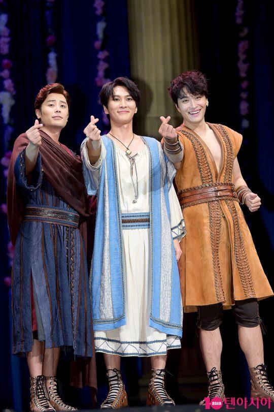 배우 한지상, 박은태, 민우혁