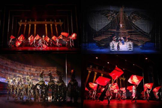뮤지컬 '벤허'의 공연 장면. / 제공=뉴컨텐츠컴퍼니