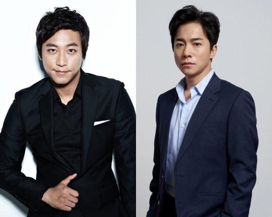 배우 오만석(왼쪽)과 김영민./사진=각 소속사 제공