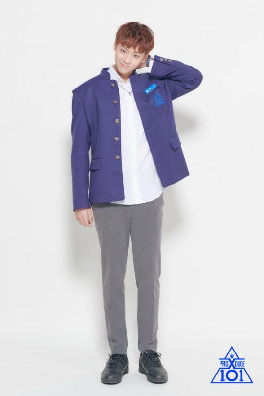 '프로듀스X101'에 출연한 토니./사진제공=Mnet