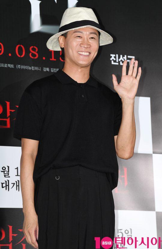 영화 '암전'에서 10년 전 '암전'을 만든 재현을 연기한 배우 진선규./ 조준원 기자 wizard333@
