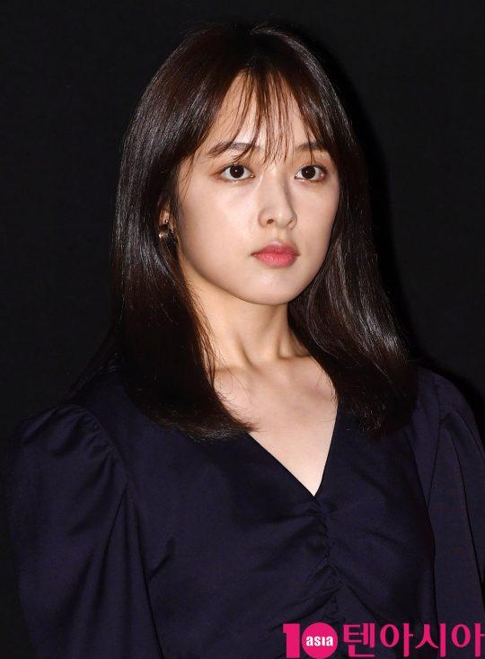 배우 김보라가 8일 오후 서울 강남구 삼성동 메가박스 코엑스에서 열린 영화 '암전' 가족시사회 무대인사에 참석했다.