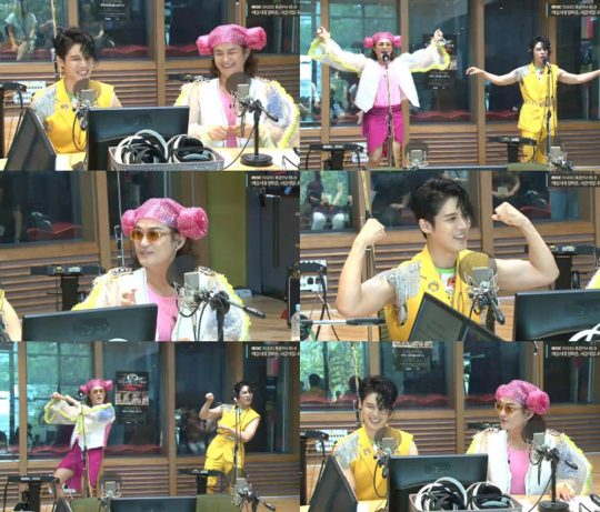 MBC 표준FM '여성시대 양희은, 서경석입니다' 방송화면. /사진제공=MBC 표준FM