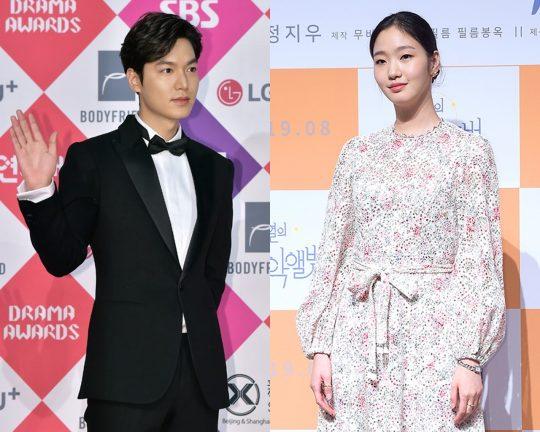 배우 이민호(왼쪽), 김고은 / 사진=텐아시아DB