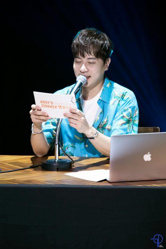 그룹 신화의 앤디. / 제공=TOP Media