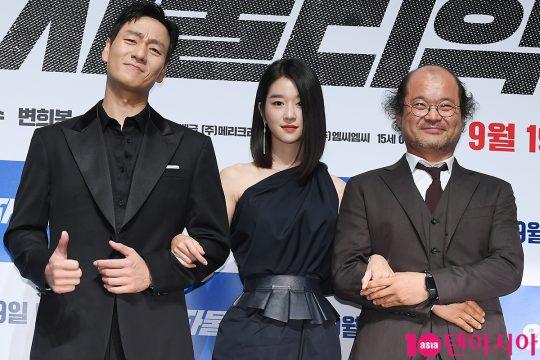 배우 박해수(왼쪽부터), 서예지, 김상호