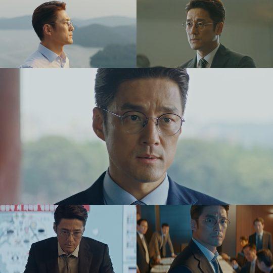 '60일, 지정생존자'의 지진희./사진제공=tvN