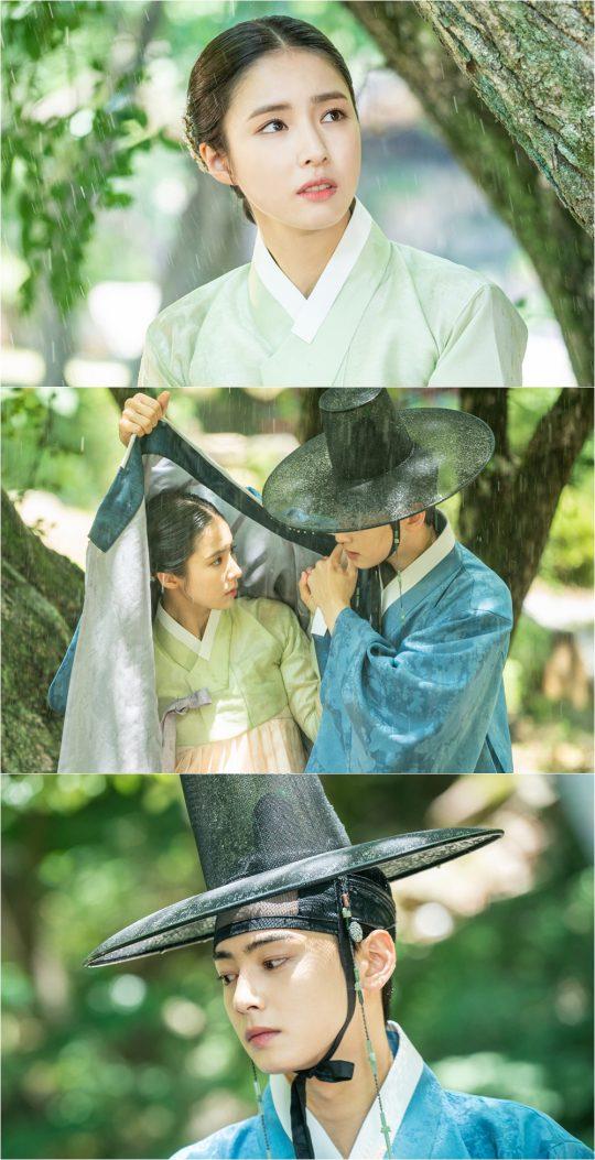 '신입사관 구해령' 신세경, 차은우. /사진제공=초록뱀미디어