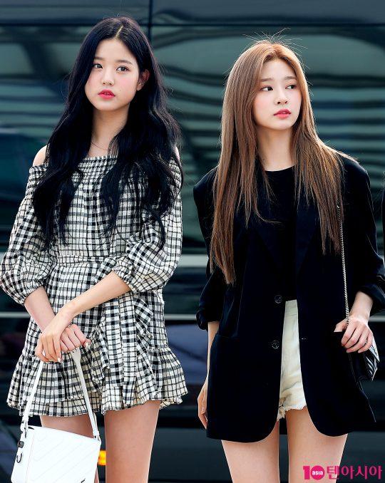 아이즈원 장원영, 김민주