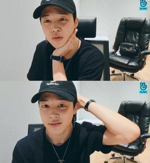 그룹 방탄소년단의 지민. /사진=네이버 V라이브