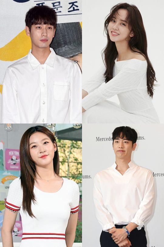 배우 윤박(왼쪽 위부터 차례로), 김소현, 김새론, 서강준. / 사진=텐아시아DB, 각 소속사