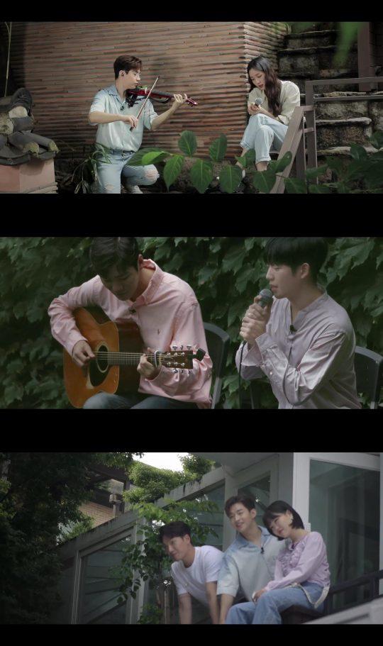 '비긴어게인3' 패밀리밴드, 김고은, 정해인가 함께한 버스킹. /사진제공=JTBC