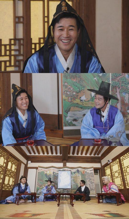 '선을 넘는 녀석들-리턴즈'에 출연하는 김종민(첫 번째 사진). /사진제공=MBC