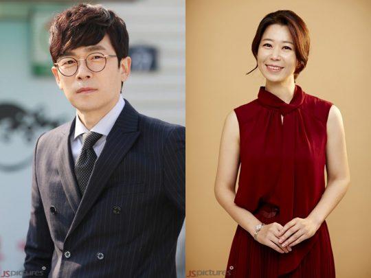 배우 이승준(왼쪽), 소희정./사진제공=제이에스픽쳐스